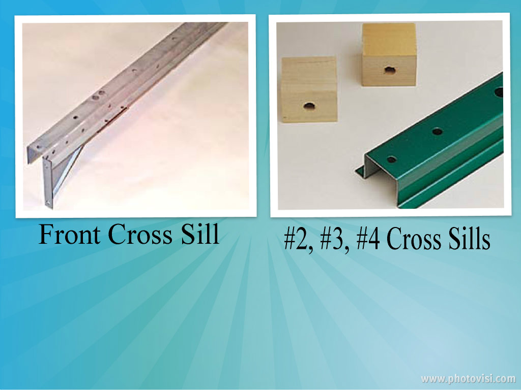 Ford Cross Sills 1976 1987 Short Bed Only